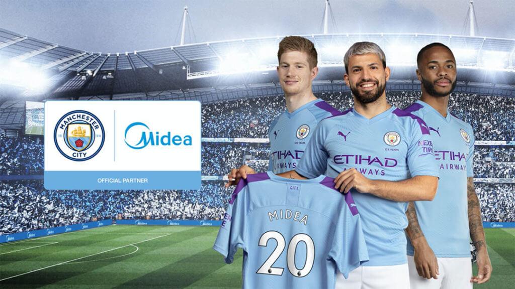 Midea x Manchester City partnertstvo