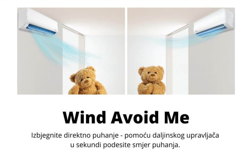 Funkcija Wind Avoid Me